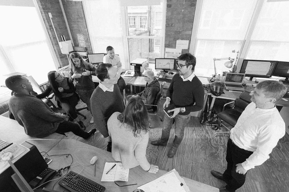 About douglas and king architects for Team x architecture