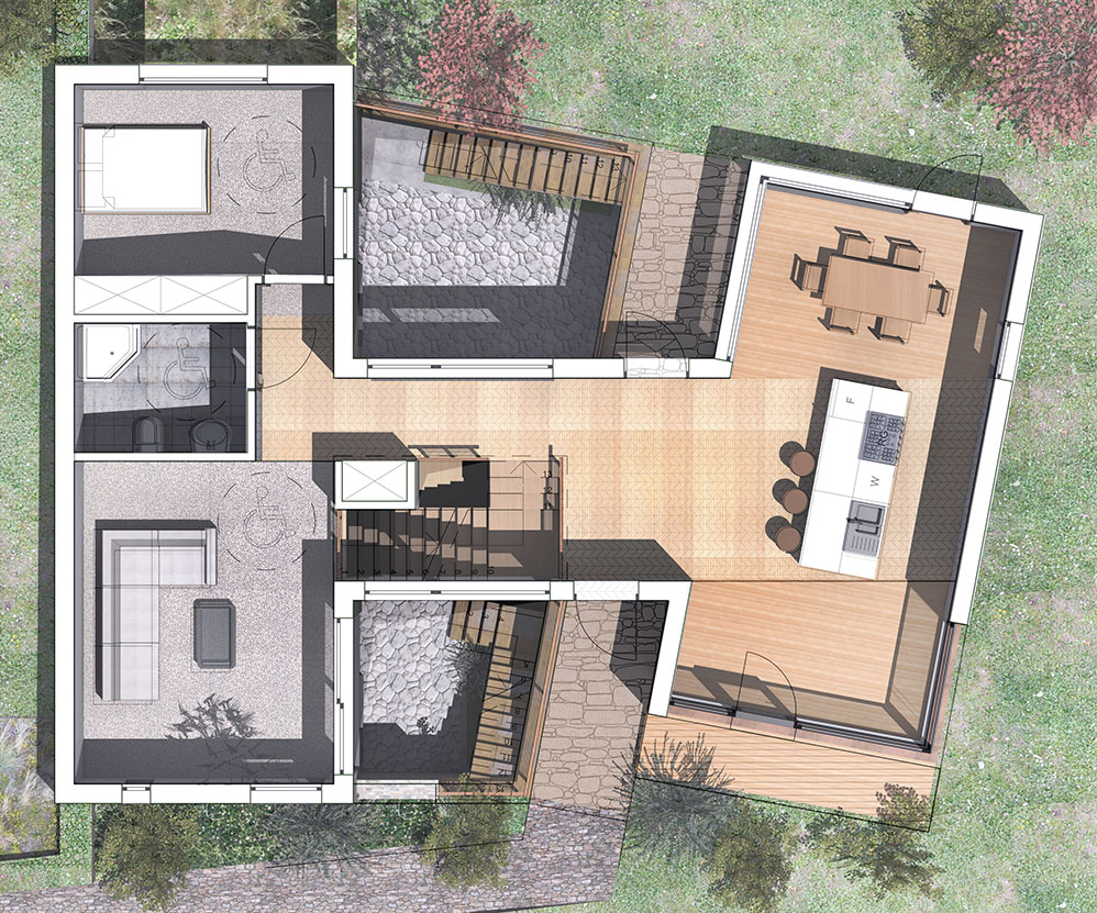2014 House Plan in Muswell Hill
